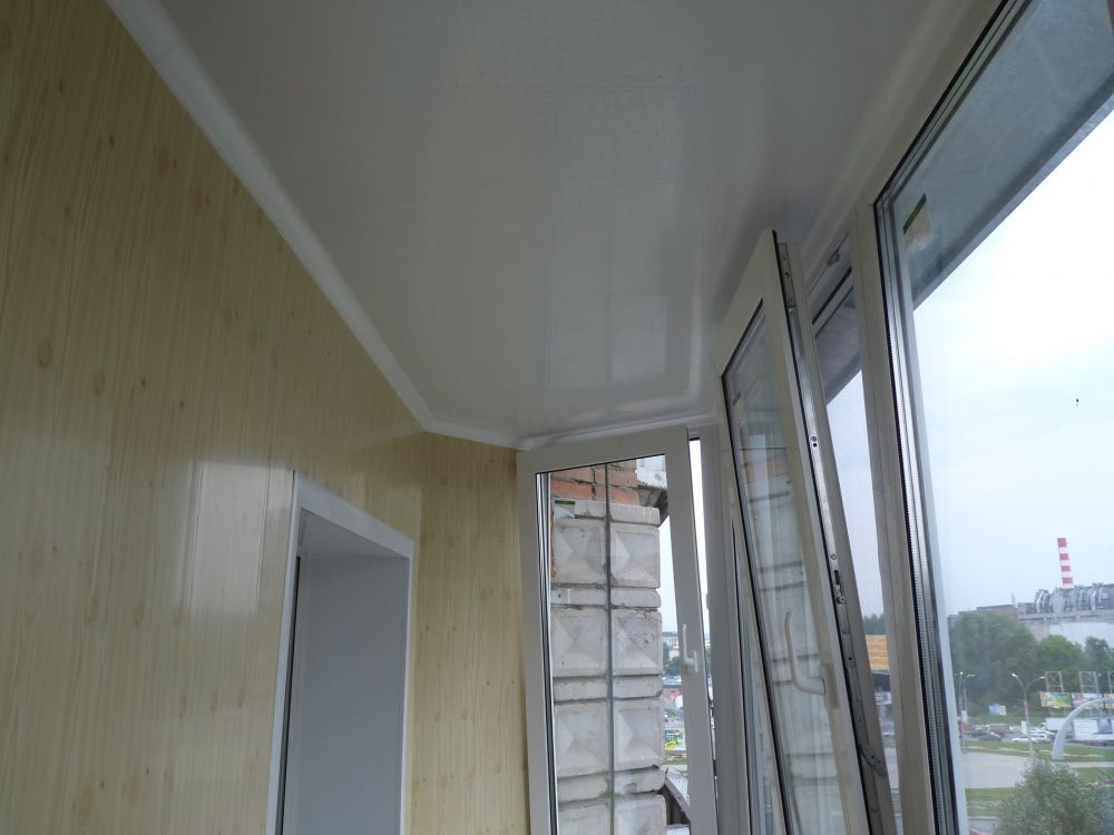 Отделка балкона пластиковыми панелями своими руками: видео-и.