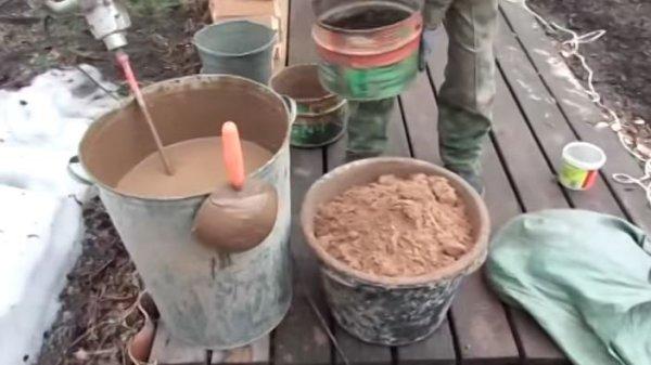 Раствор для штукатурки печей: глиняный, состав, пропорции, как сделать, приготовить своими руками, каким штукатурить печные трубы, видео-инструкция, фото и цена