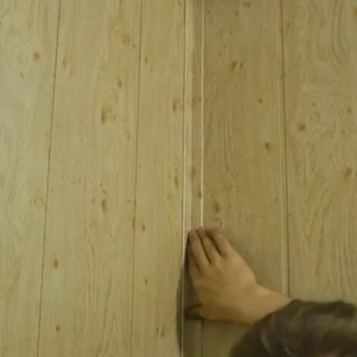 Отделка стен панелями мдф на клей