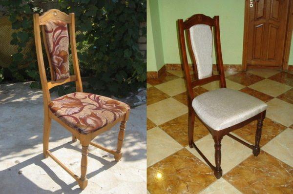 Применение правильного сочетания краски и обивки позволяет преобразить внешний вид мебели