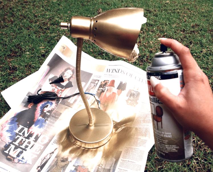 если как покрасить декор золотом из баллончика аромат станет очень