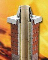 Пример керамического дымохода