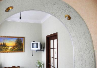 Чем отделать проем в стене