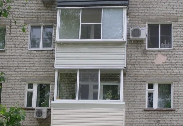 Пример приставного балкона