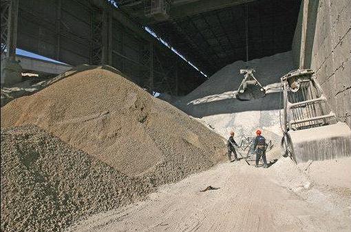 Пример торговли цементом «навалом»