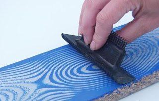 Как покрасить двери акриловой краской эффект древесины