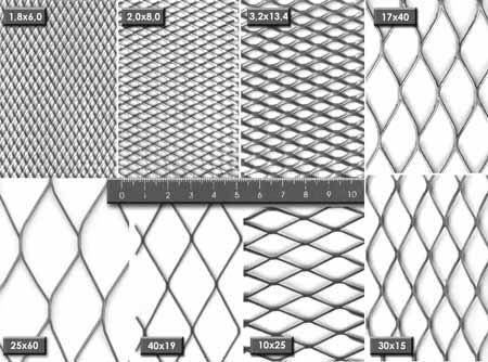 Различные виды ячеек у металлических изделий