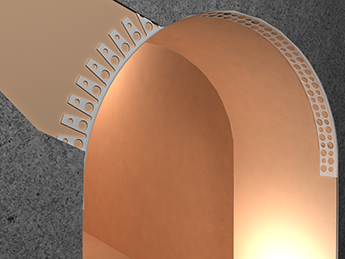 Размещение арочной модели