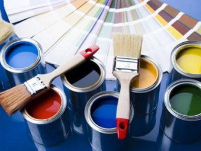 Разнообразие оттенков красок на водной основе