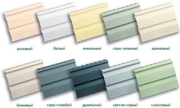 Разнообразие цветовой гаммы