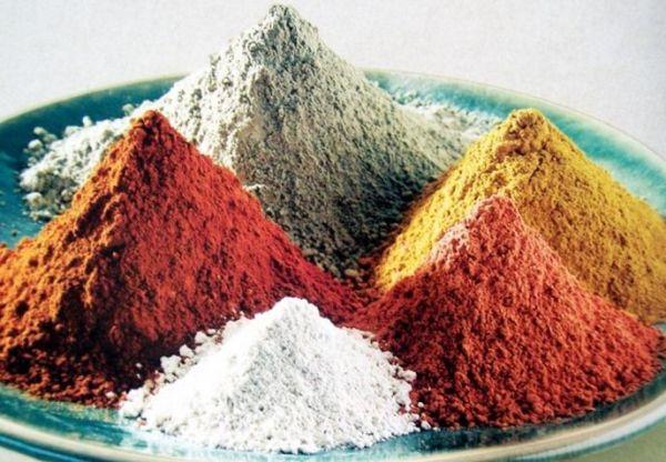 Разновидности глины.