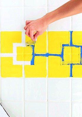 Краска по плитке керамической