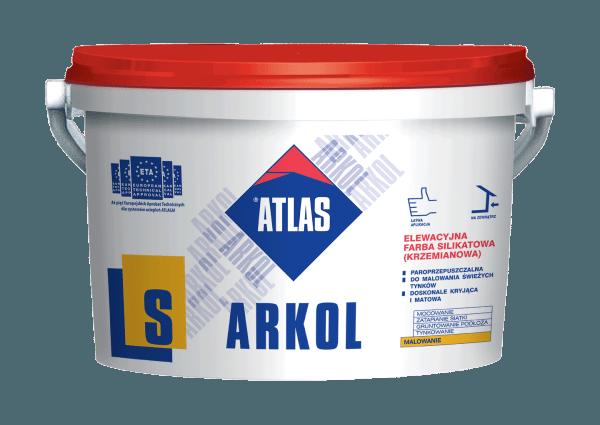 Силикатная кремниевая краска ATLAS ARKOLS