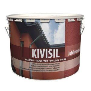 Силиконовая кремнийорганическая фасадная краска KIVISIL