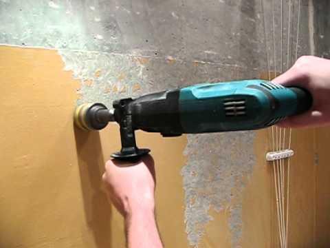 Снятие старого лакокрасочного покрытия