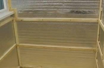 Стена с обрешеткой и тепло и пароизоляцией под монтаж деревянной вагонки