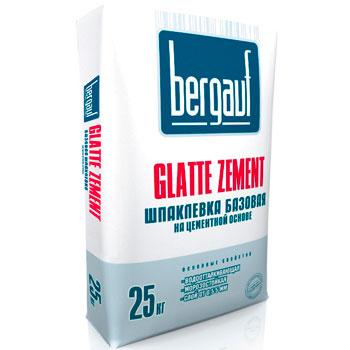Цементная шпаклевка BERGAUF GLATE ZEMENT
