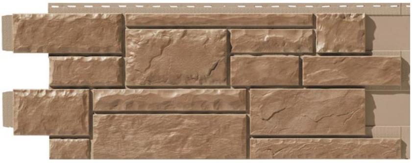 Цокольный сайдинг под натуральный камень