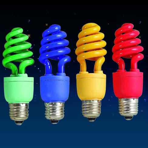 Цветные лампочки - редкая и довольно дорогая экзотика.