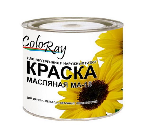 Упаковка универсальной масляной краски