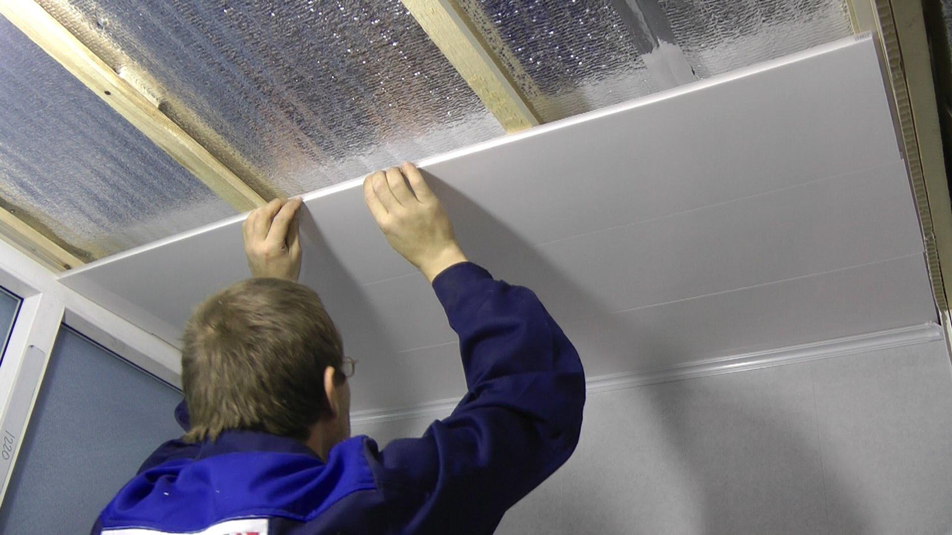 Стены пластиковыми панелями своими руками