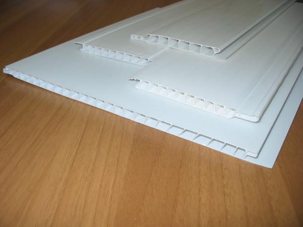 Устройство ПВХ панелей на примере поперечного среза