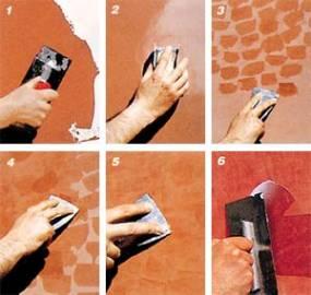 Как сделать своими руками венецианскую штукатурку