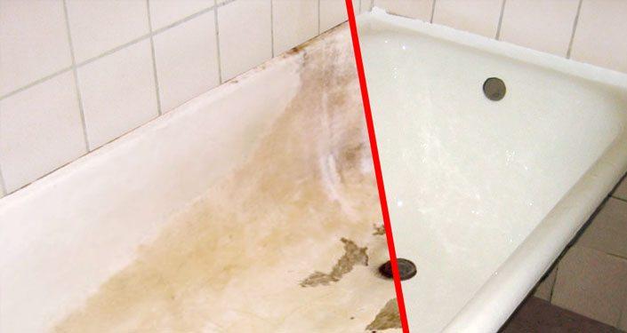 Как восстановить покрытие чугунной ванны