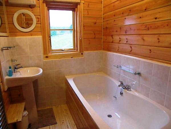 Полы в ванной комнате в деревянном доме своими руками видео