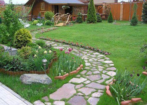 Яркие дорожки в вашем саду