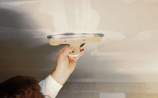 Заделка шва на потолке своими руками