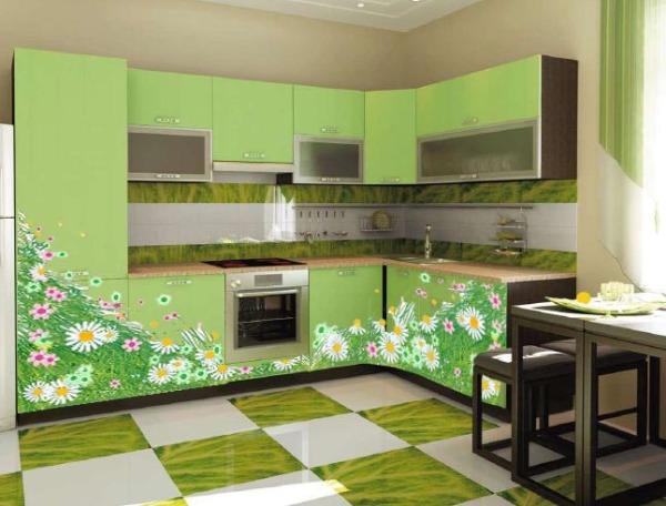 Зеленый цвет благоприятно воздействует на человеческую психику и создает ощущение тепла и гармонии.