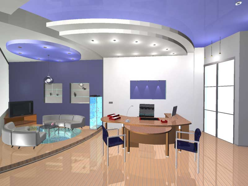 3D проект офиса