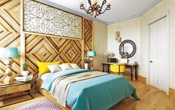 Спальная в стиле Эклектика