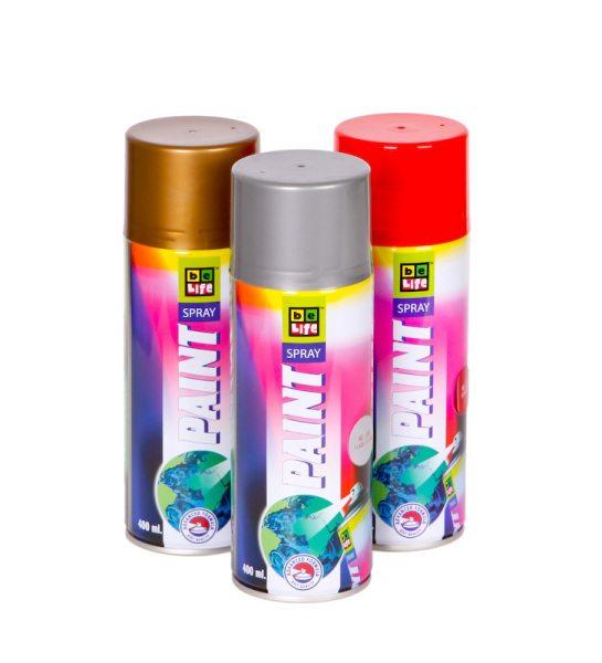 Аэрозольные акриловые краски по пластику