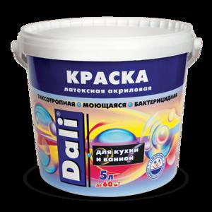Акриловая краска для кухни и ванной