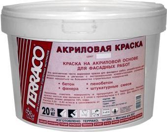 Акриловая смесь – возможно, самая лучшая краска для фасадов.
