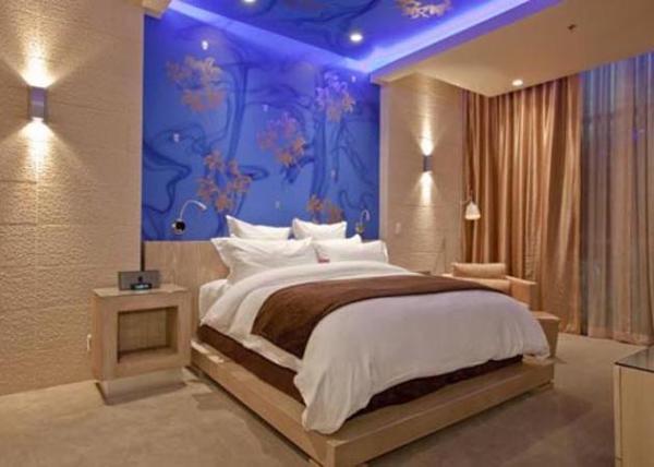 Арт дизайн спальни.