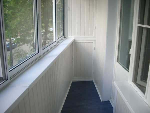 Балкон в сайдинге