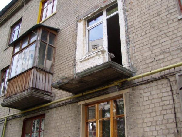 Балконная плита без перил
