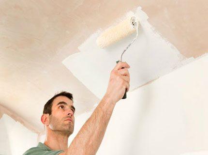 Белая грунтовка для подготовки гипсокартона под покраску