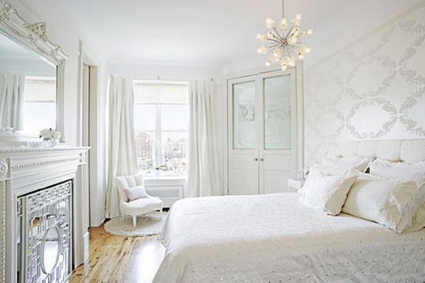 Белая спальня? Почему бы и нет!