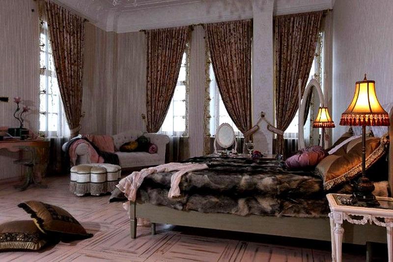 Алла Пугачева спальня