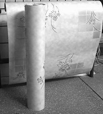 Большая ширина листов обеспечивает малое количество швов на стене