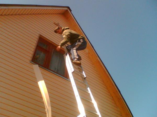 Будьте предельно осторожны, работая наверху