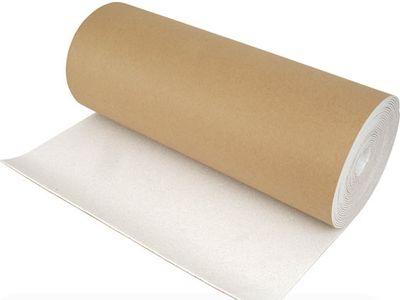Бумажная сторона термоизоляционной подложки