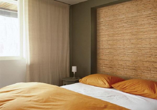 Частичка природы в спальне