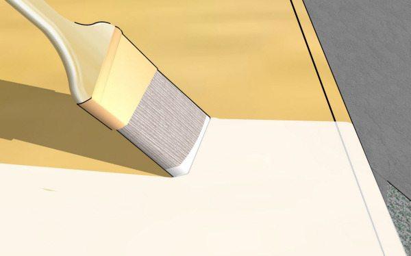 Чем лучше заполнены поры, тем меньше расход лакокрасочных материалов