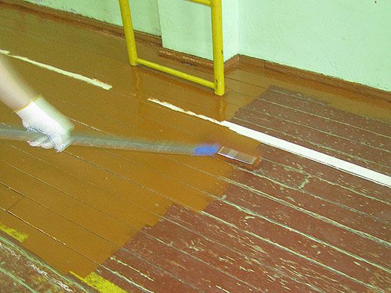 Можно ли покрыть лаком эмаль для пола алкидно-уретановая обработка шпатлевки