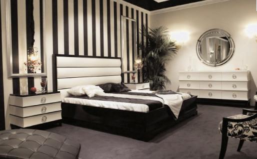 Черно-белое оформление – классический вариант, проверенный временем